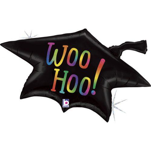 Μπαλόνι καπέλο αποφοίτησης Woo Hoo!