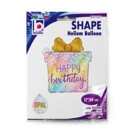 Μπαλόνι Opal Birthday Present 69 εκ.