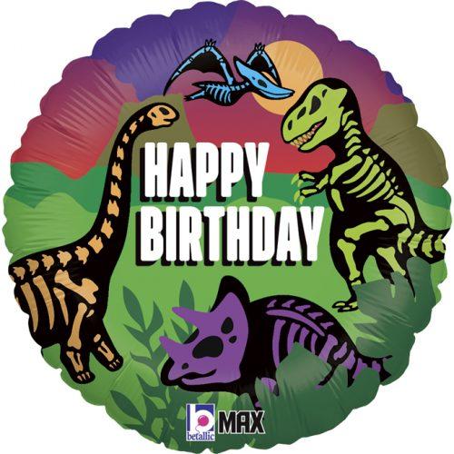 Μπαλόνι Jurassic Birthday δεινόσαυροι