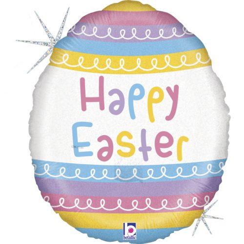 """Μπαλόνι Πασχαλινό αυγό """"Happy Easter"""""""