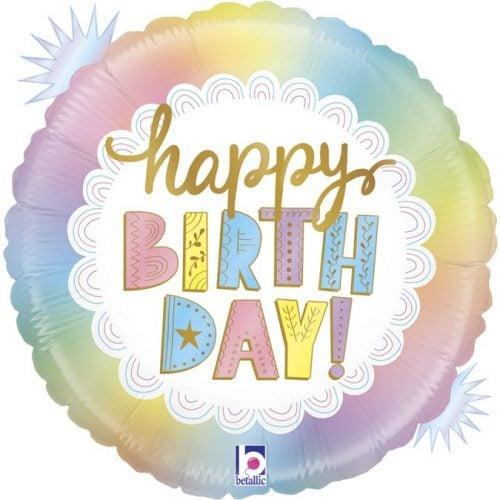 Μπαλόνι Happy Birthday Opal