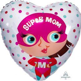 Μπαλόνι Super Mom μπαλόνι γιορτή της μητέρας
