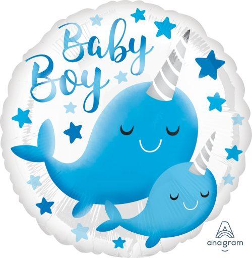 Μπαλόνι baby boy narwhall