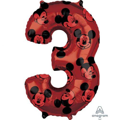 Μπαλόνι 66 εκ Mickey Mouse Αριθμός 3