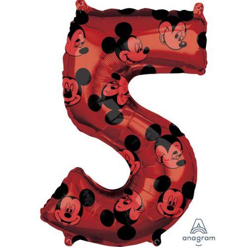 Μπαλόνι 66 εκ Mickey Mouse Αριθμός 5