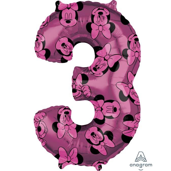 Μπαλόνι 66 εκ Minnie Mouse Αριθμός 3