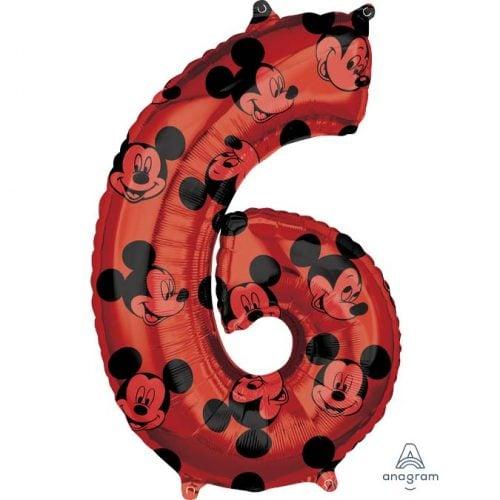 Μπαλόνι 66 εκ Mickey Mouse Αριθμός 6