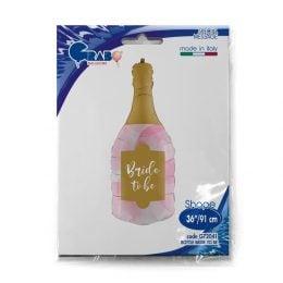 Μπαλόνι μπουκάλι σαμπάνιας Bride to Be 91 εκ