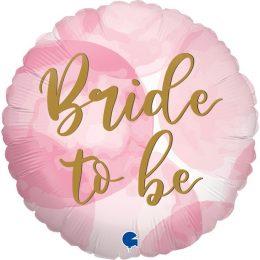 Μπαλόνι Bride To Be Watercolor 46 εκ
