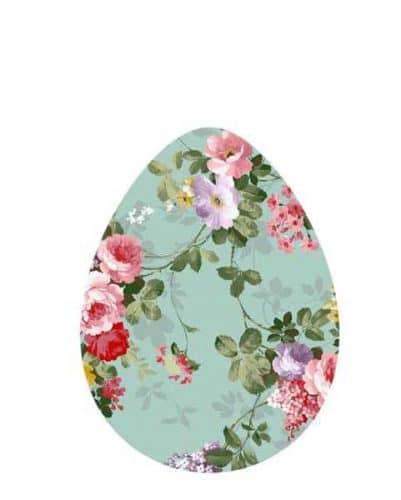 Διακοσμητικό αυγό Φλοράλ (1 μ.)