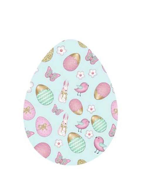 Διακοσμητικό αυγό πασχαλινά Σχέδια (1 μ.)