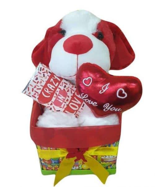 Κουτί Αγάπης με σκυλάκι
