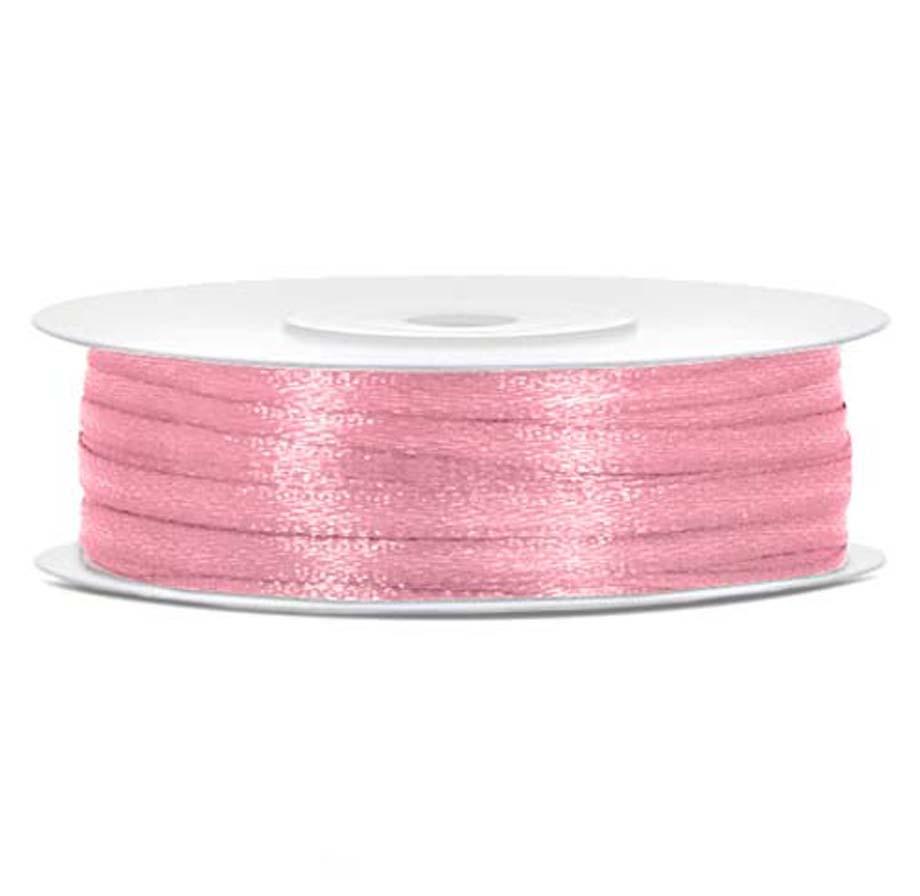 Σατέν ροζ κορδέλα