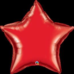Μπαλόνι κόκκινο αστέρι 36″