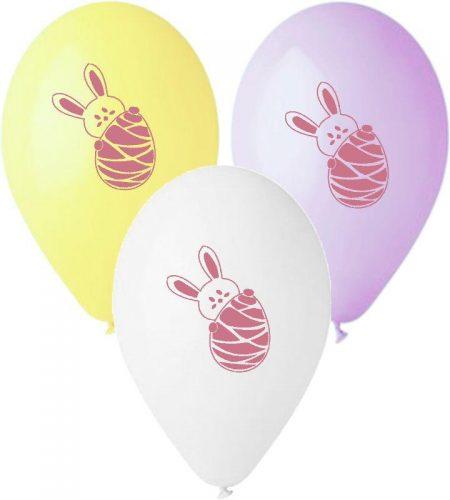 12″ Μπαλόνι τυπωμένο Κουνελάκι (3 χρώματα)