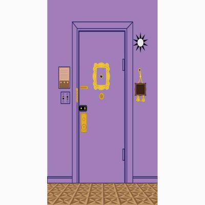 Αφίσα πόρτας Φιλαράκια