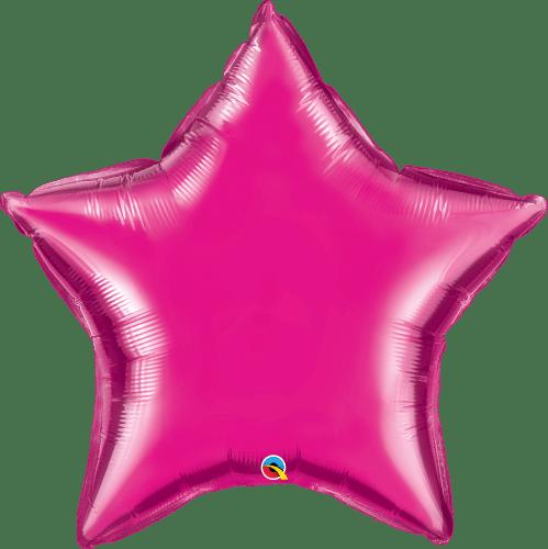 Μπαλόνι φούξια αστέρι 36″