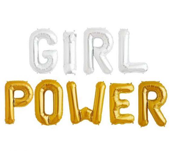 """Σετ μπαλονιών """"Girl Power"""""""