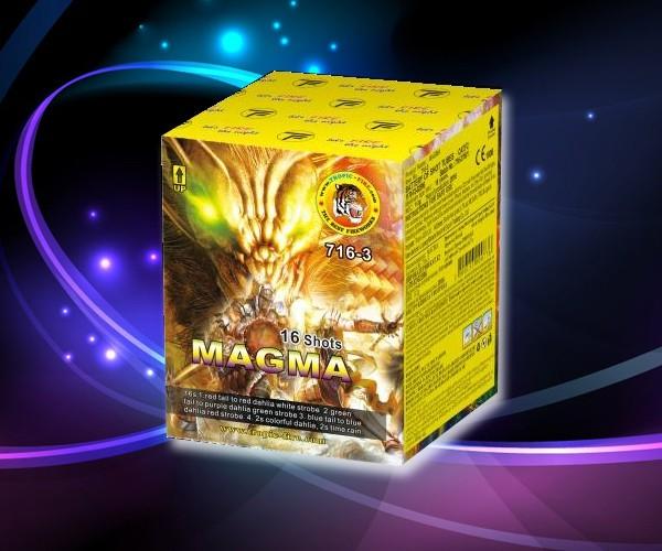 Πυροτεχνήματα 16 βολών MAGMA