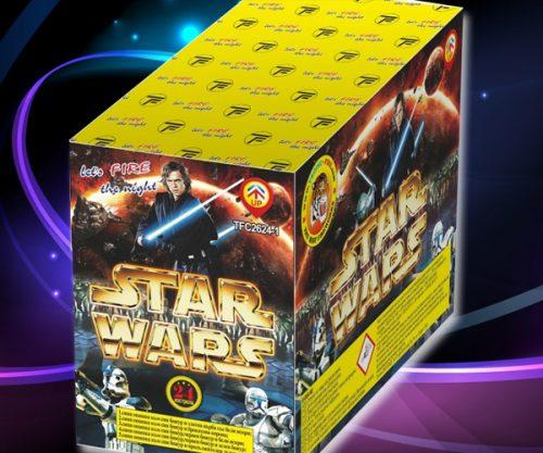 Πυροτέχνημα 24 βολών Star Wars