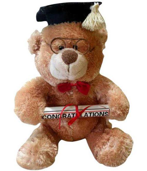 Λούτρινο αρκουδάκι Αποφοίτησης δώρο ορκωμοσίας