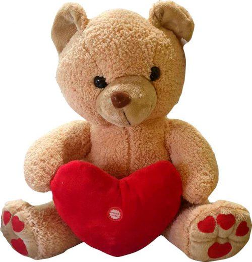 Λούτρινο αρκουδάκι Love me Tender