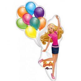 Μπαλόνι Barbie με μπαλόνια