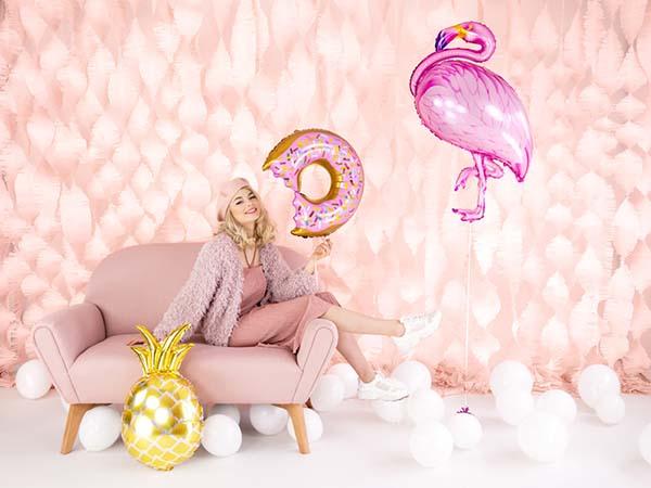 Μπαλόνι Donut δαγκωμένο 50 εκ