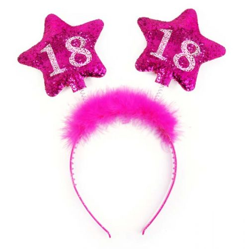 """Στέκα μαλλιών """"Sweet 18"""""""