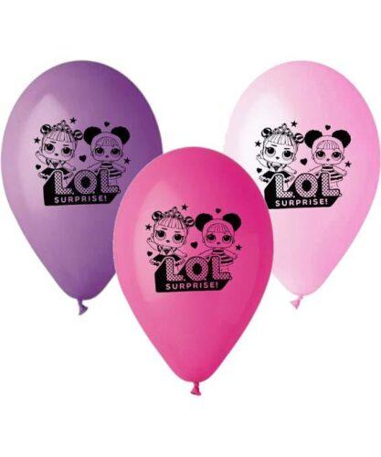 12″ Μπαλόνι τυπωμένο LOL Surprise (3 χρώματα)