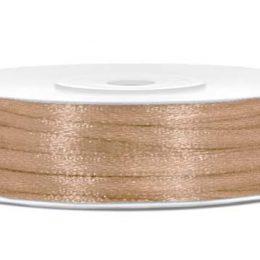 Σατέν χρυσή κορδέλα (50μ.)