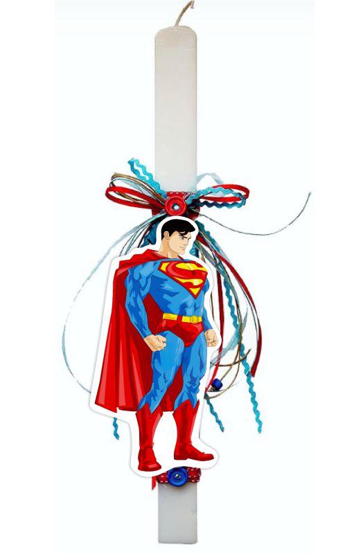 Πασχαλινή Λαμπάδα Superman