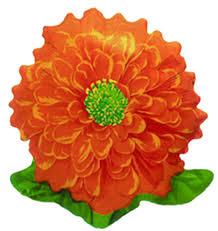 Μπαλόνι Πορτοκαλί Λουλούδι Τζίνια 58 εκ