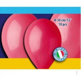 12″ Κόκκινα λάτεξ μπαλόνια (10 τεμ)