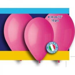 12″ Φούξια λάτεξ μπαλόνια (10 τεμ)