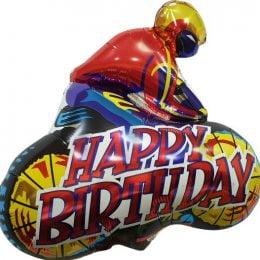 Μπαλόνι μηχανόβιος Happy Birthday 92 εκ
