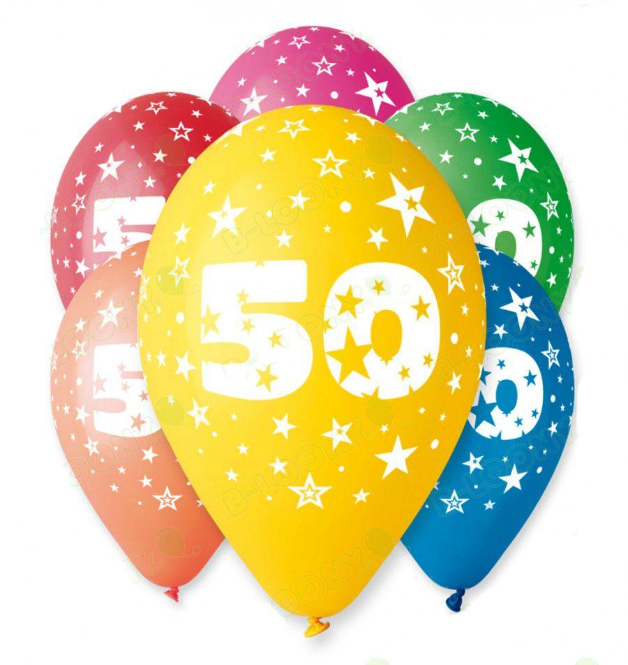 Μπαλόνι γενέθλια Νο 50