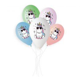 13″ Μπαλόνι Unicorn Star (5 τεμ)