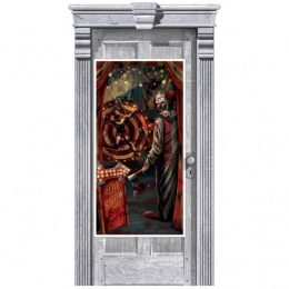 Διακοσμητικό πόρτας Creepy Clown 165cm