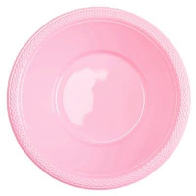 πλαστικό μπολ ροζ