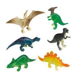Παιχνίδια μινιατούρες Happy Dinosaur (8 τεμ)