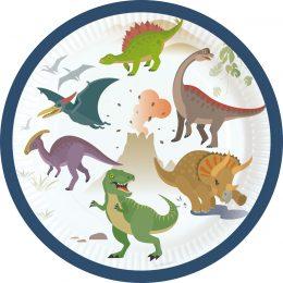 πιατάκια πάρτυ δεινόσαυροι