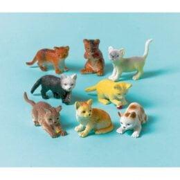Παιχνίδια μινιατούρες γατάκια (12 Τεμ)