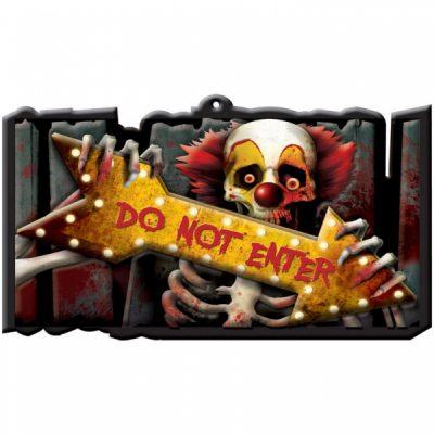 πινακίδα do not enter κλόουν