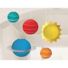 Διακοσμητικά οροφής Πλανήτες (5 τεμ)