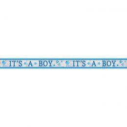 """Διακοσμητικό μπάνερ """"It's a Boy"""" 7.62m"""