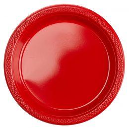 Πιατάκια πάρτυ μικρά κόκκινα (20 τεμ)