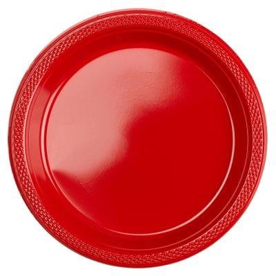 Πιατάκια Πάρτυ μικρά κόκκινα 20 τεμ.