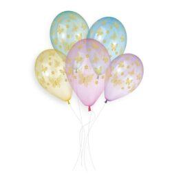 Μπαλόνια Πεταλούδες Crystal Rainbow
