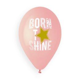 Μπαλόνια Born to Shine ροζ